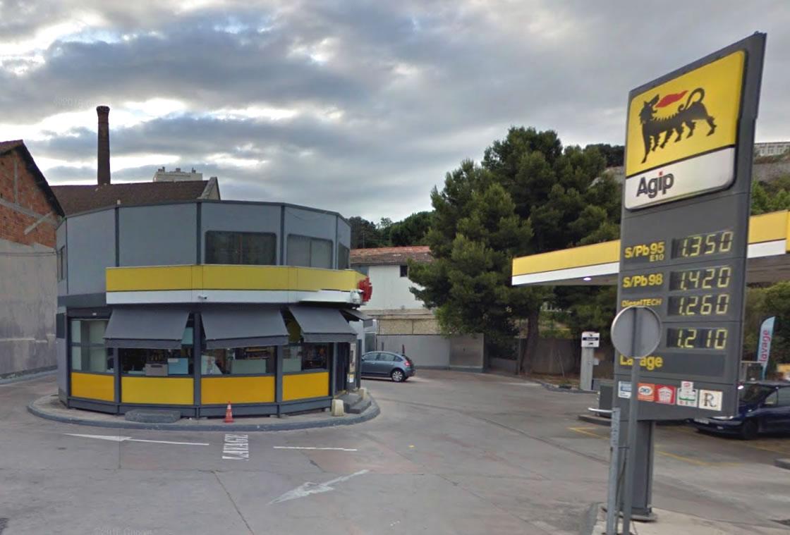 Stations Services AGIP de Jean Prouvé
