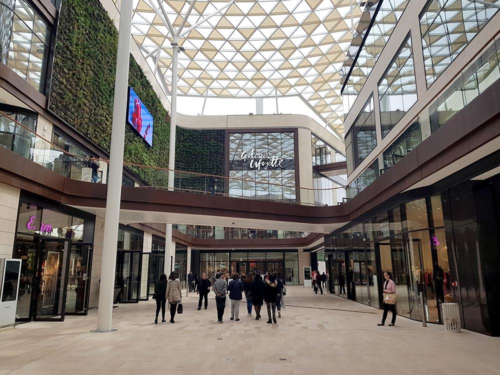 Centre Commercial Prado à Marseille & Galeries Lafayette