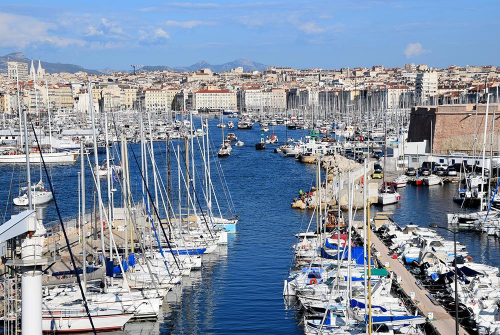Le Vieux-Port de Marseille, depuis -600 avant JC